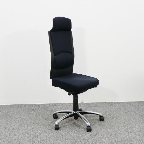 Gebrauchter Köhl Bürodrehstuhl mit Kopfstütze