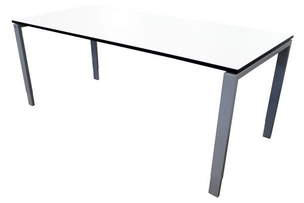 Günstiger Bene Schreibtisch mit neuer Arbeitsplatte - Designplatte!