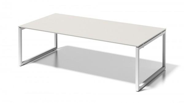 Bisley Cito Chefarbeitsplatz/Konferenztisch, 740 mm höhenfixes O-Gestell, 2400 x 1200 mm