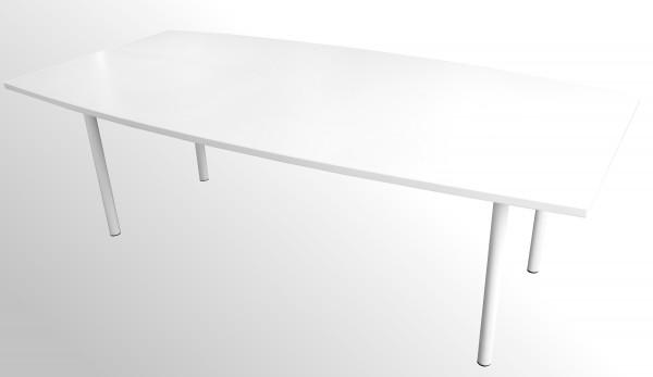 Günstiger Besprechungs- und Konferenztisch - Warenrückläufer - weiß