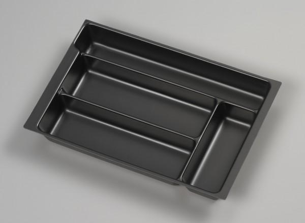 Bisley MultiDrawer™ Schreibwareneinsatz A4 für A4 Schubladen H 102, 87, 51 mm