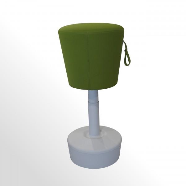Günstige Arbeitsplatz-Stehhilfe - Sitzhocker - flexibel und höhenverstellbar