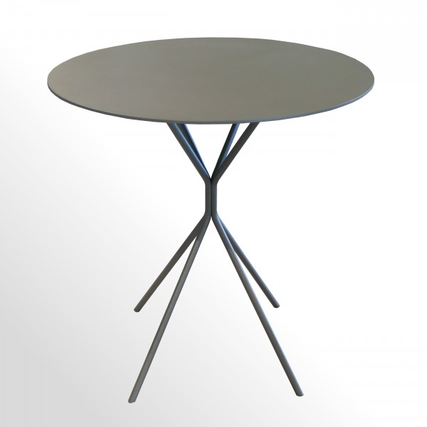 Günstiger Besprechungs- und Konferenztisch - Stahlplatte - Ø 800 mm