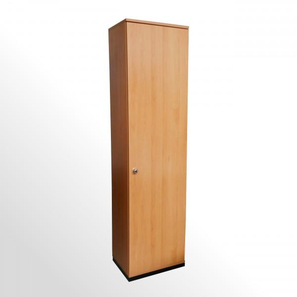 Gebrauchter Steelcase-Werndl Garderobenschrank - Buche Dekor - Türanschlag rechts - 600 mm