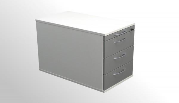 König+Neurath Rollcontainer mit neuer Front - Silberfarben