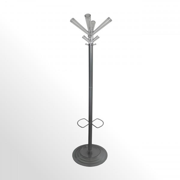 Günstiger Design-Garderobenständer mit Schirmhalterung und Abtropfschale