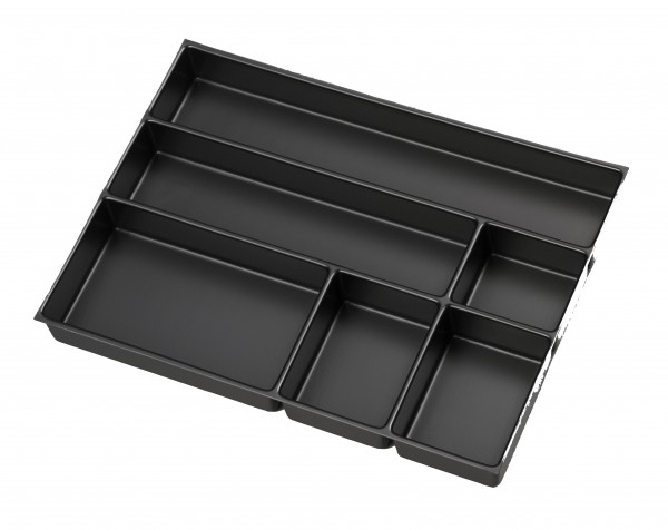 Bisley MultiDrawer™ Schreibwareneinsatz A3 für A3 Schubladen H 87, 51 mm