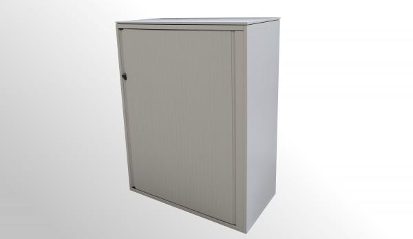 Günstiger, gebrauchter Steelcase Rollladenschrank