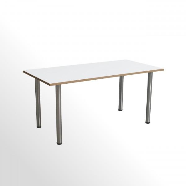 Gebrauchter Besprechungs- und Konferenztisch mit Echtholz-Umleimer - 1600 x 800 mm