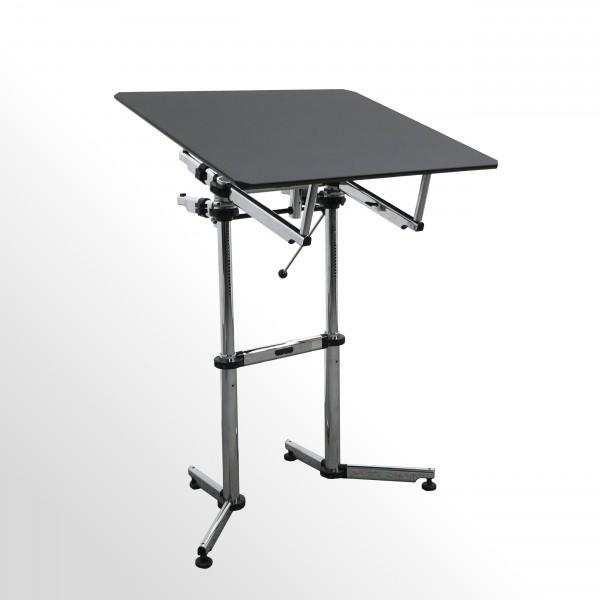 Gebrauchtes USM Kitos Stehpult - Rednerpult mit schwarzer Platte