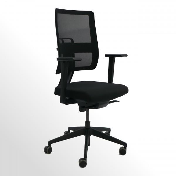 Ergonomischer Bürodrehstuhl | Perfekt für dynamisches 3D-Sitzen | BLACK-EDITION NET