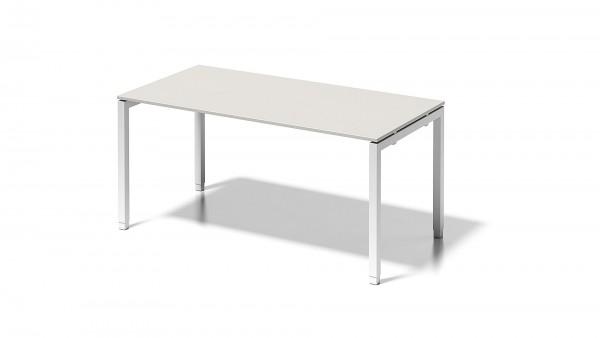 Cito Schreibtisch, 650-850 mm höheneinstellbares U-Gestell, B 1600 x T 800 mm
