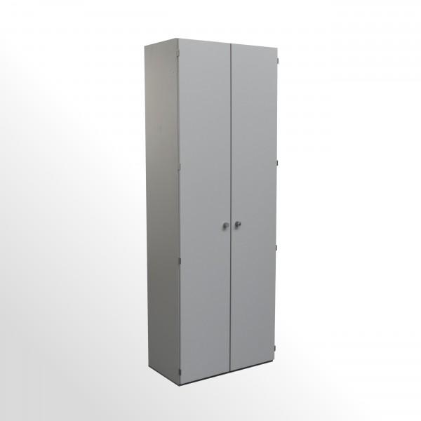 Gebrauchter Palmberg Aktenschrank - Flügeltürenschrank - grau
