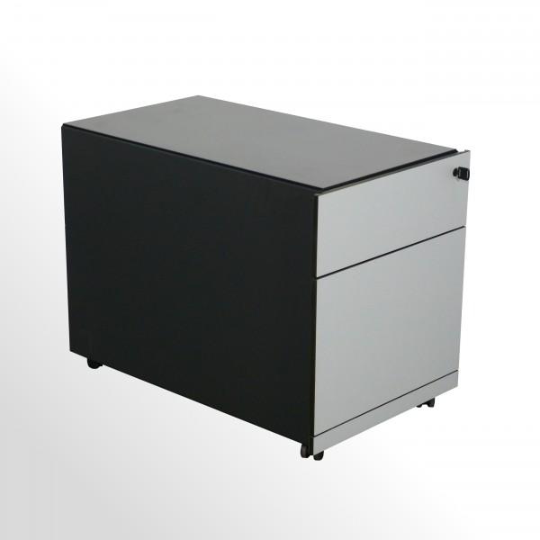 Gebrauchter Bulo H2O Rollcontainer mit Hängeregistraturlade - anthrazit/grau