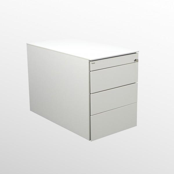 Gebrauchter Bene Rollcontainer mit Schubladen - weiß