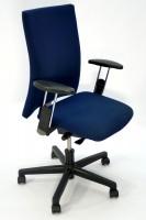 Günstiger, gebrauchter Haworth Comforto Bürodrehstuhl - Stoff blau **SONDERPREIS**