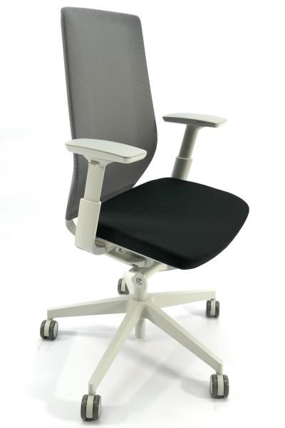 Ergonomischer Bürodrehstuhl mit flexiblem Sitzpolster und Rückenlehne